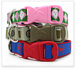 Ribbon & Nylon Dog Collars